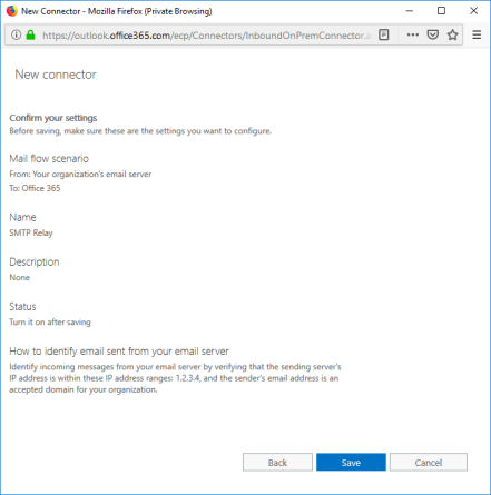 SMTP relay for Office 365 – CJDwyer